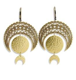 Ornamental Things Moon phase Earrings