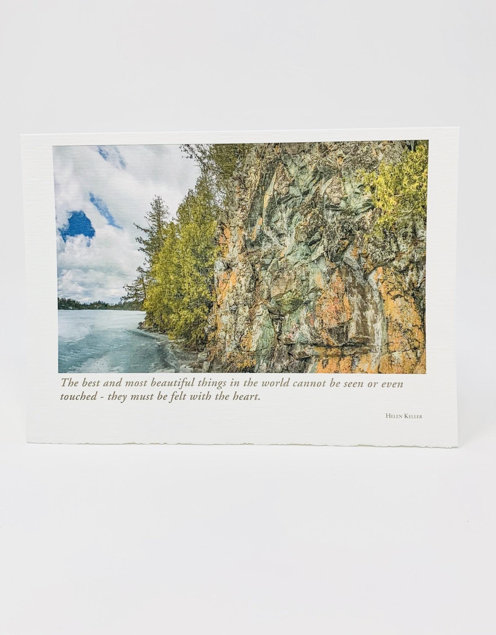 Artist to Watch Judd Lake, Cliff with Lichen