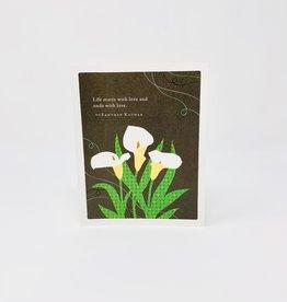 Compendium White Callalilies