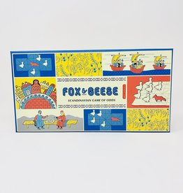 Kikerland Fox and Geese Game