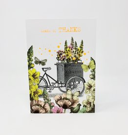Nelson Line Bicycle Flower cart