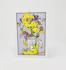 Sugarhouse Greetings Iris Bouquet