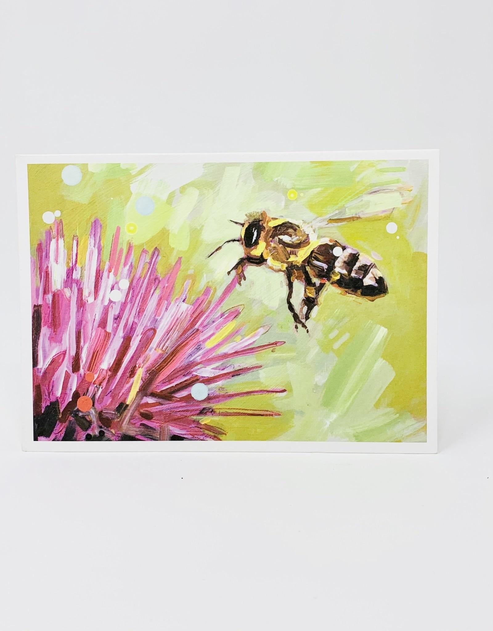 Artist to Watch Headlong- Bee w/ Flower