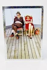 Design Design Old couple on yacht deck