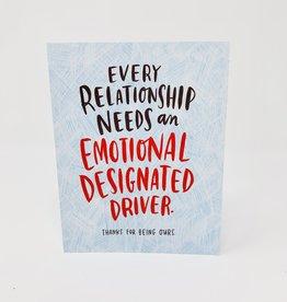 Emily McDowell Emotional designated Driver
