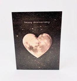 The Galek Sea Happy Anniversary Heart Moon