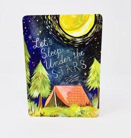 Baily & Shoaf Sleep Under the Stars
