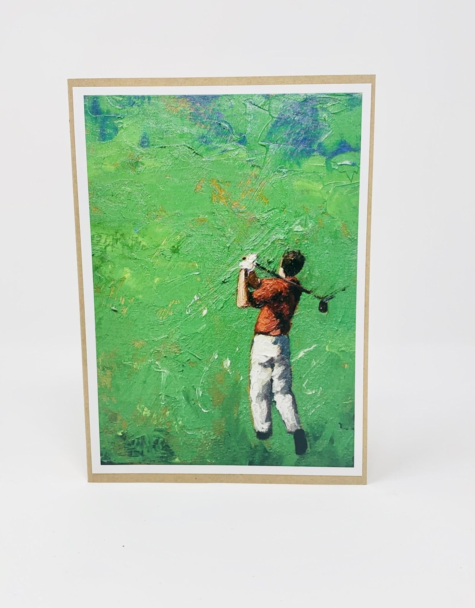 Collage Golfer
