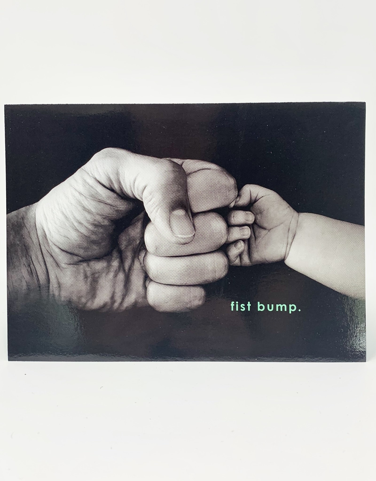 Design Design Father fist Bump