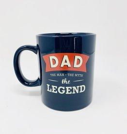 Waste Not Paper Dad the Legend Mug