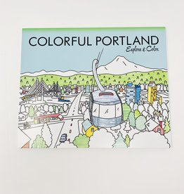 IPG Colorful Portland Coloring Book
