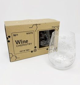 Cognitive Surplus White Wine Chemistry Glasses