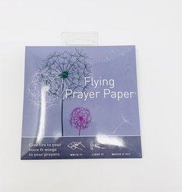 Flying Wishpaper Dandelion Prayer Wish Kit