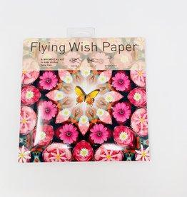 Flying Wishpaper Pink Butterfly LG Wish Kit