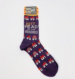 Blue Q. Butthead Household M-Socks
