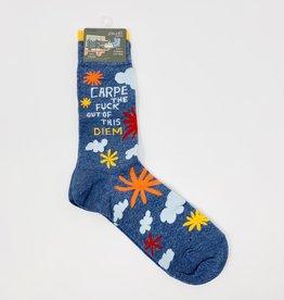 Blue Q. Carpe Diem M-Socks