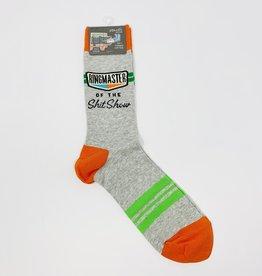 Blue Q. Ringmaster Shitshow M-Socks