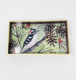 PPD Winter Bird Musee Wood Tray