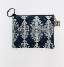 Maruca Bags Coin Purse Black leaf