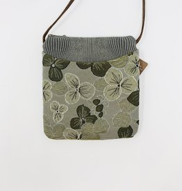 Maruca Bags Cupcake Purse Green Floral
