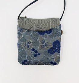 Maruca Bags Cupcake Purse Blue Floral