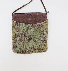 Maruca Bags Lil Buddy Purse Graphic Lines