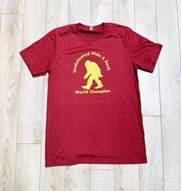 Meriwether Sasquatch Hide/Seek Tshirt