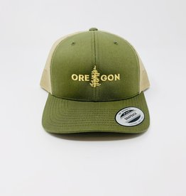 Stickers NW OR Tree Cap Hat