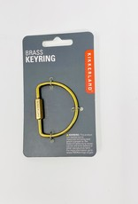 Kikerland Half circle Brass Key Ring