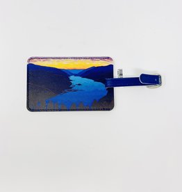 Christopher Bibby Comumbia River Luggage Tag