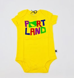 Little Bay Root Colorful Bird Portland Onsie 6 Month