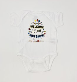 Wry Baby Shit Show Onsie