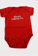 Wry Baby judging you Onsie-RED