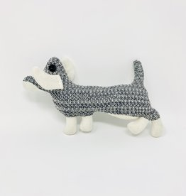 Creative Co-Op Quirky Dog  Animal Rattles