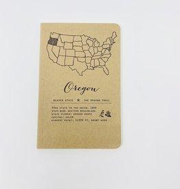 Blackbird Letterpress Oregon State notebook