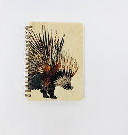 Night Owl Paper Goods Porqupine Spiral Journal