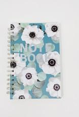 Studio Oh Slate Blue-Spiral Notebook
