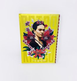 Barker & Taylor Publisher Frida Kahlo Yellow Journal