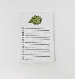 Gotamago Artichoke Notepad