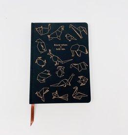Design Works Inc. Black/Origami Journal