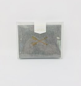 Design Works Inc. Grey Arrows-Boxed Card