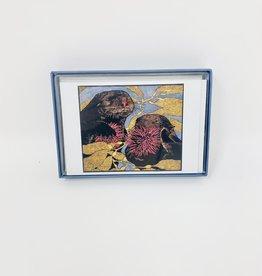 Pomegranate Sea otters-Boxed