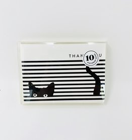 Seltzer Cat stripes boxed