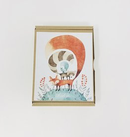 Teneues Stationary Friends of the Forest TY - Boxed
