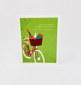 Compendium Bike w/ Ukaleleh/Flowers