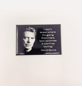 Ephemera David Bowie magnet