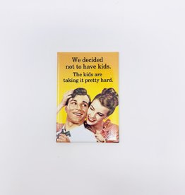 Ephemera Decided not to have kids magnet