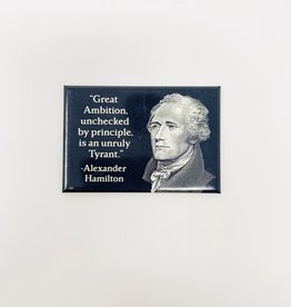 Ephemera Alexander Hamilton magnet