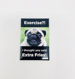 Ephemera Extra Fries magnet
