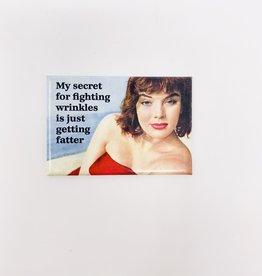 Ephemera Fighting wrinkles magnet